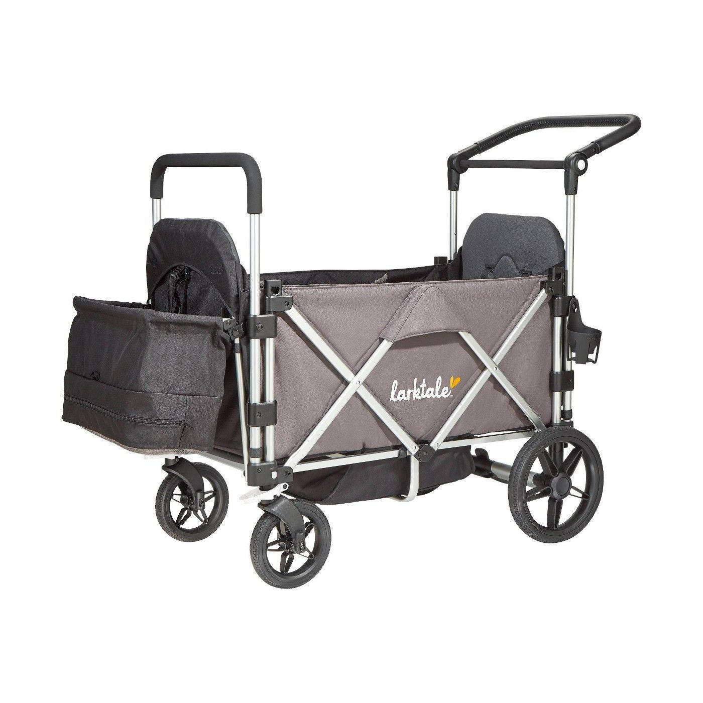 Larktale Caravan Stroller Wagon Chassis Mornington Gray