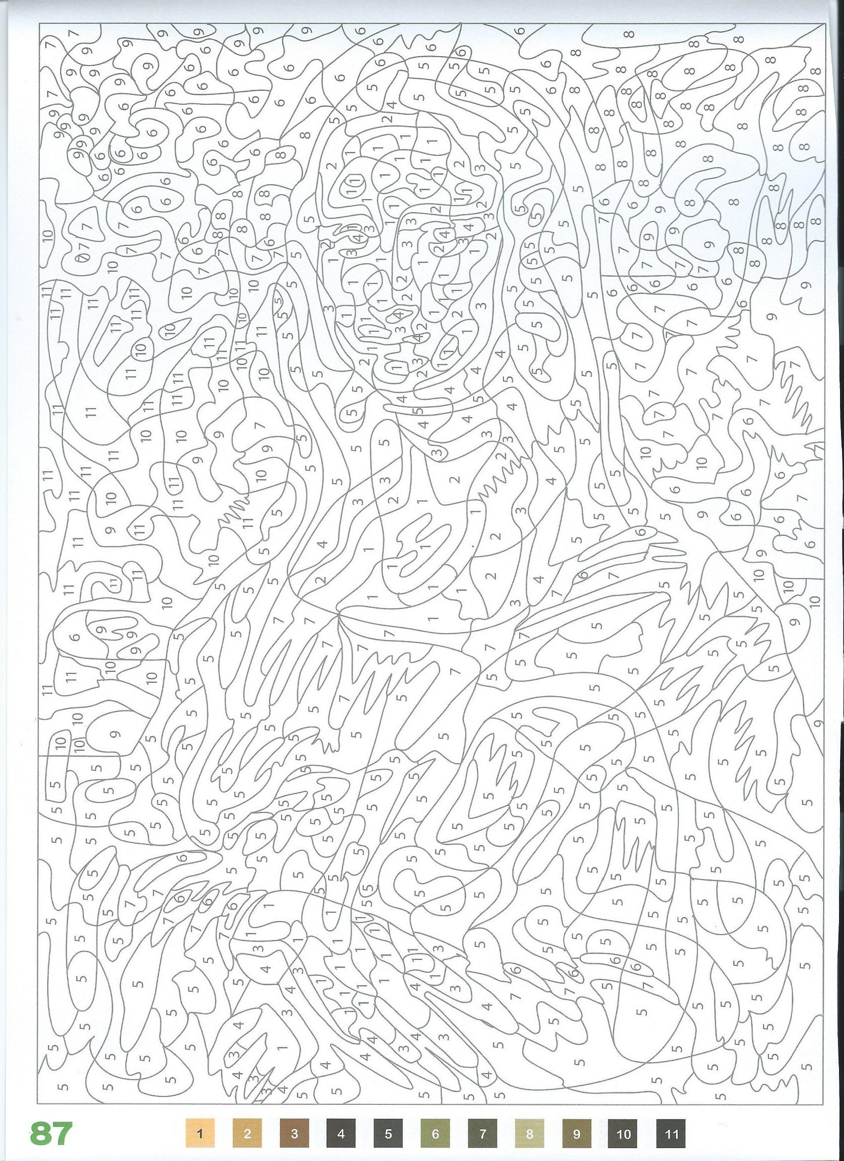 La Joconde Coloriage Numerote Coloriage Mystere Disney