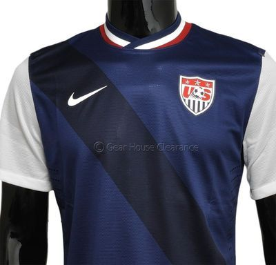 5d19f572170 New NIKE Authentic US Soccer National Team Mens Jersey - Navy Blue - USA