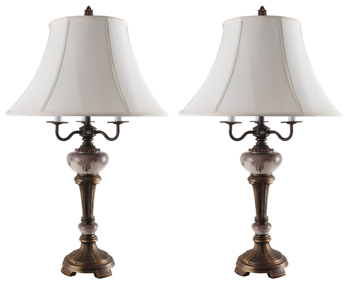"Sixten 31"" H Table Lamp with Bell Shade"