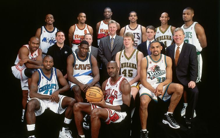 Last All Star Game In Big Apple Had Pacers Flavor Indiana Pacers Nba Tv All Star Nba Legends