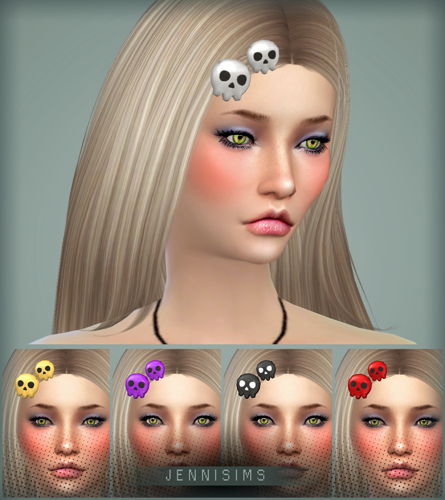The sims 4 hair accessories - Jennisims Downloads Sims 4 Accessory Hair Base Game Compatible