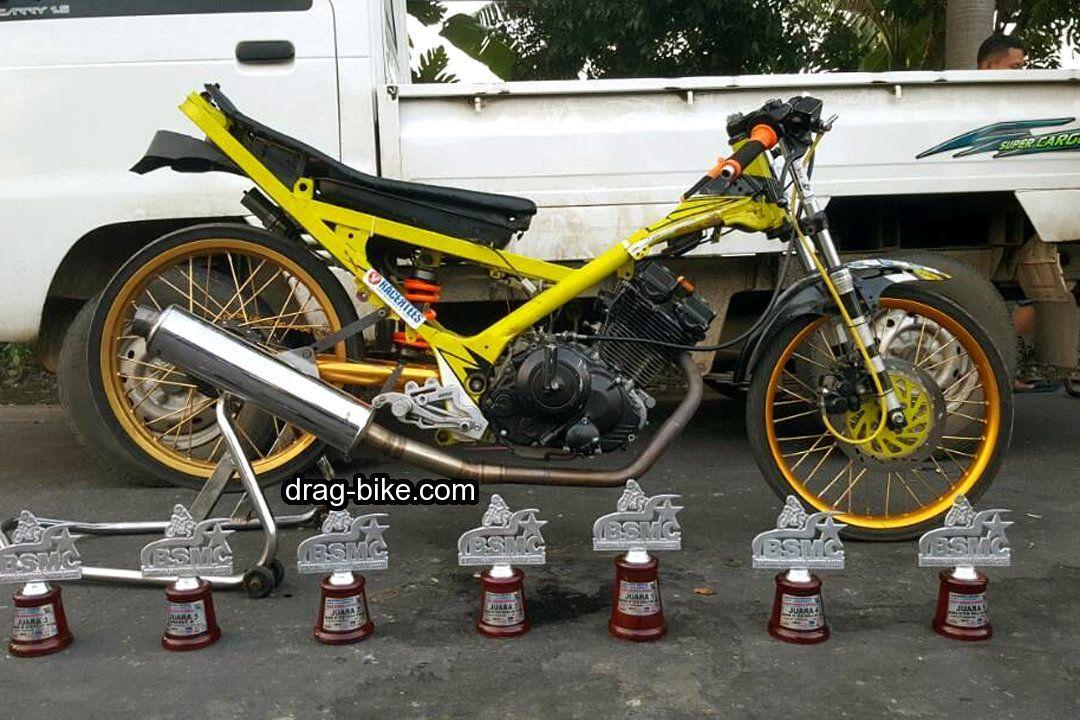 Motor Drag Fu 200cc Fu Drag Bike Racing Dan Races Style