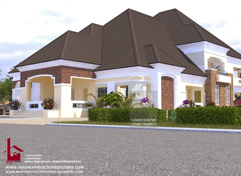 5 Bedroom Pent Floor Rf P5004 In 2020 Bungalow House Design