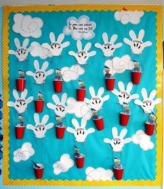 Lavoretti creativi per l 39 accoglienza a scuola for Idee per cartelloni scuola infanzia