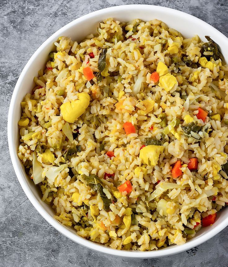 this flavorful jamaican seasoned rice is easy to prepare