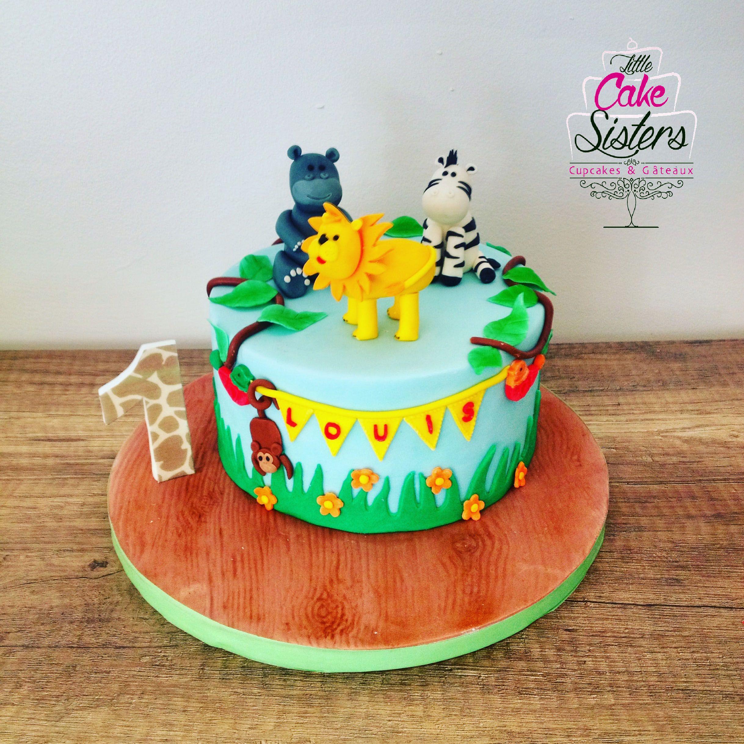 sucre jungle cake lion