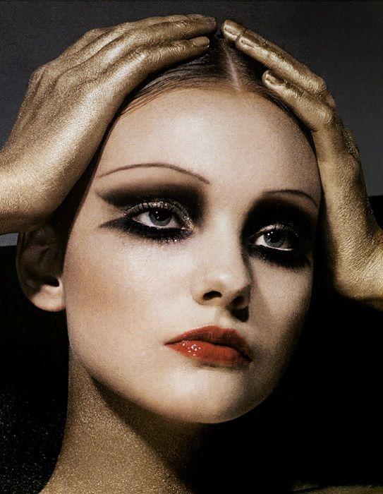 Make up inspiration beauty editorial make up - Schminken 20er ...