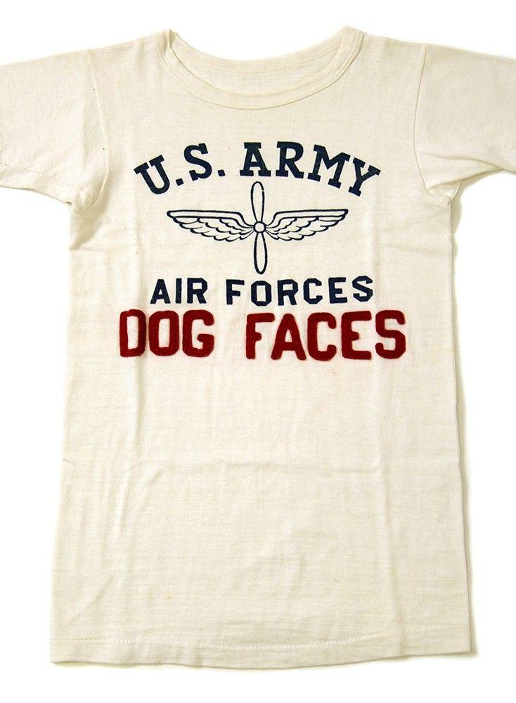 346d695e U.S.ARMY AIR FORCE T-SHIRT(DEADSTOCK | Vintage T-Shirts | T shirt ...