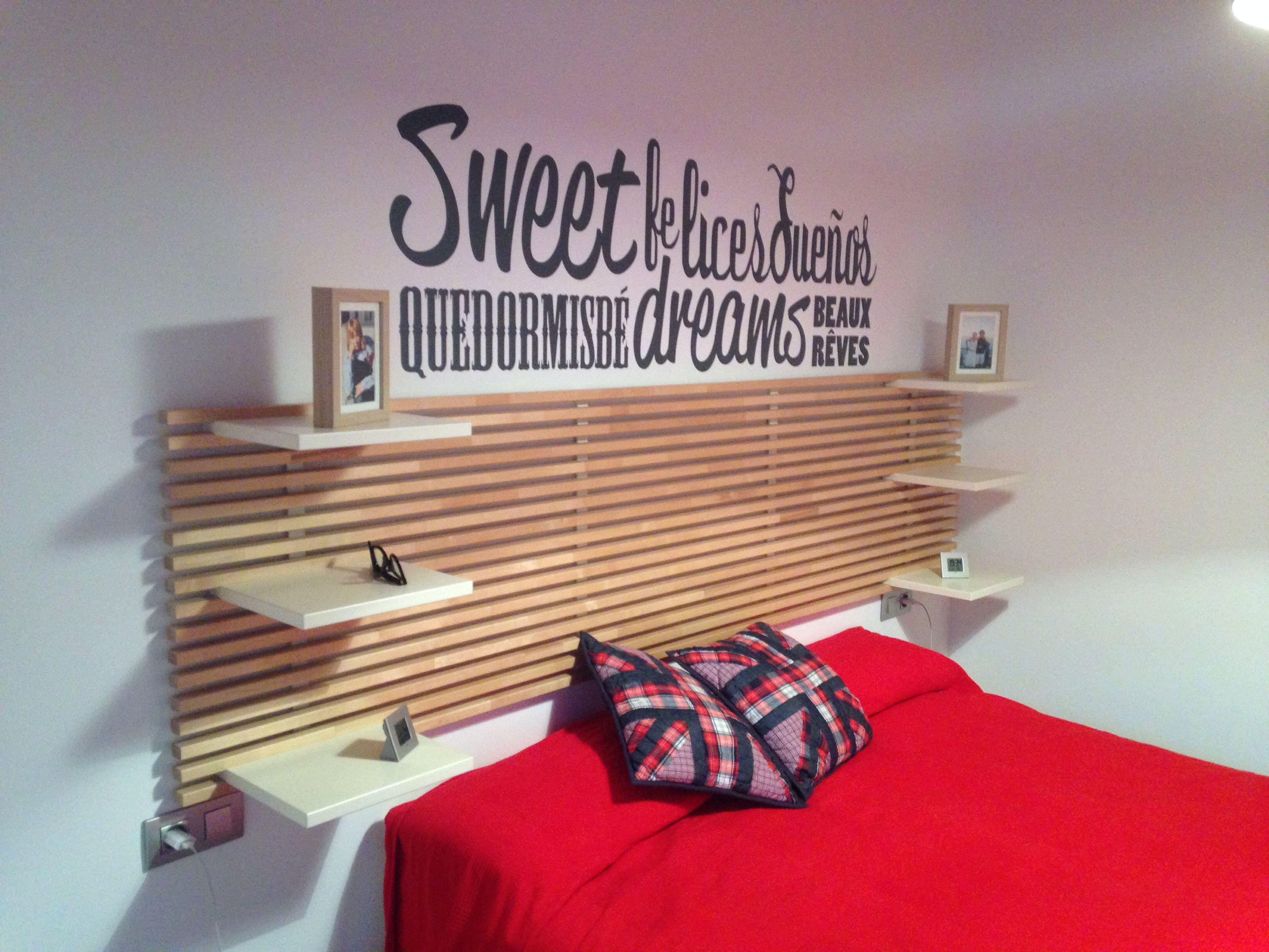 Ikea mandal for home case for Testiera letto ikea mandal