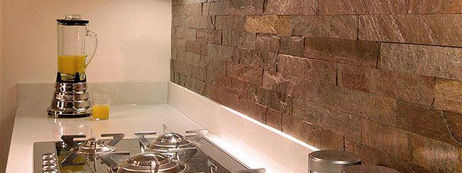 Modern Kitchen Cabinets White Quartz Kitchen Countertop With X Copper Color  Quartzite Subway Backsplash Tile. This Is A Unique Backsplash Tile  Quartzite ...