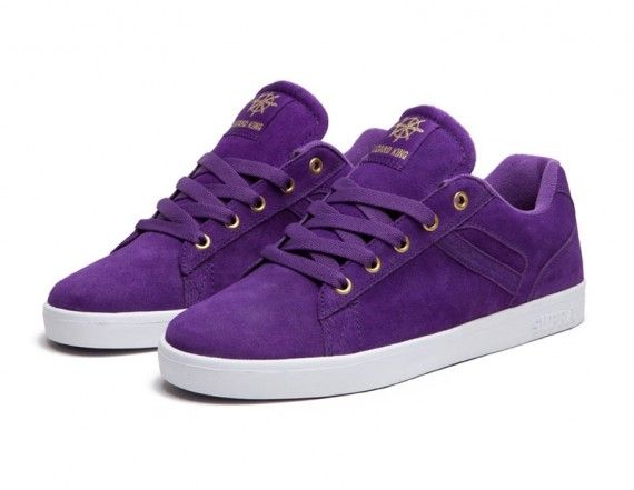 c626037d05ee Supra Bullet - Black + Purple - SneakerNews.com