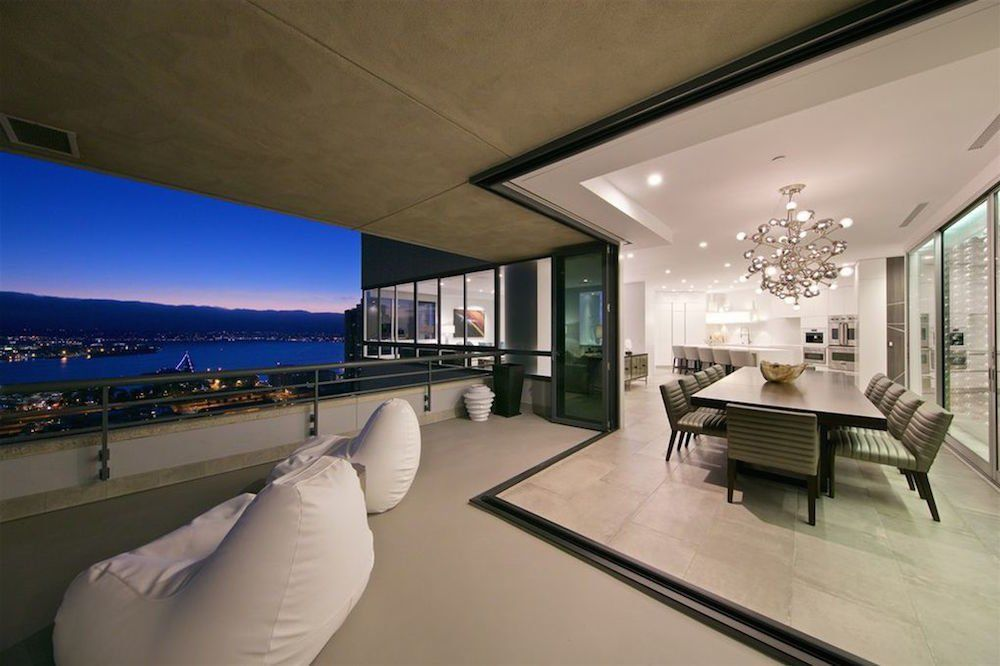 Photo 16 Of 16 In 8 Things To Consider When Choosing Retractable Sliding Patio Doors Glass Wall Luxury Property