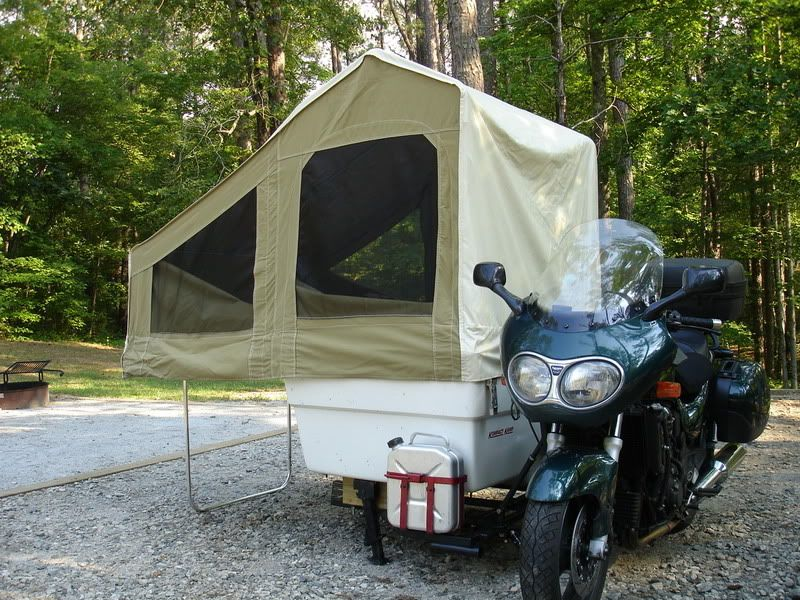 Homemade Motorcycle Camper Pretty Sure It S A Homemade Free