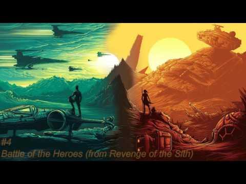 Top 10 Star Wars Musical Theme Songs [HQ] 4K
