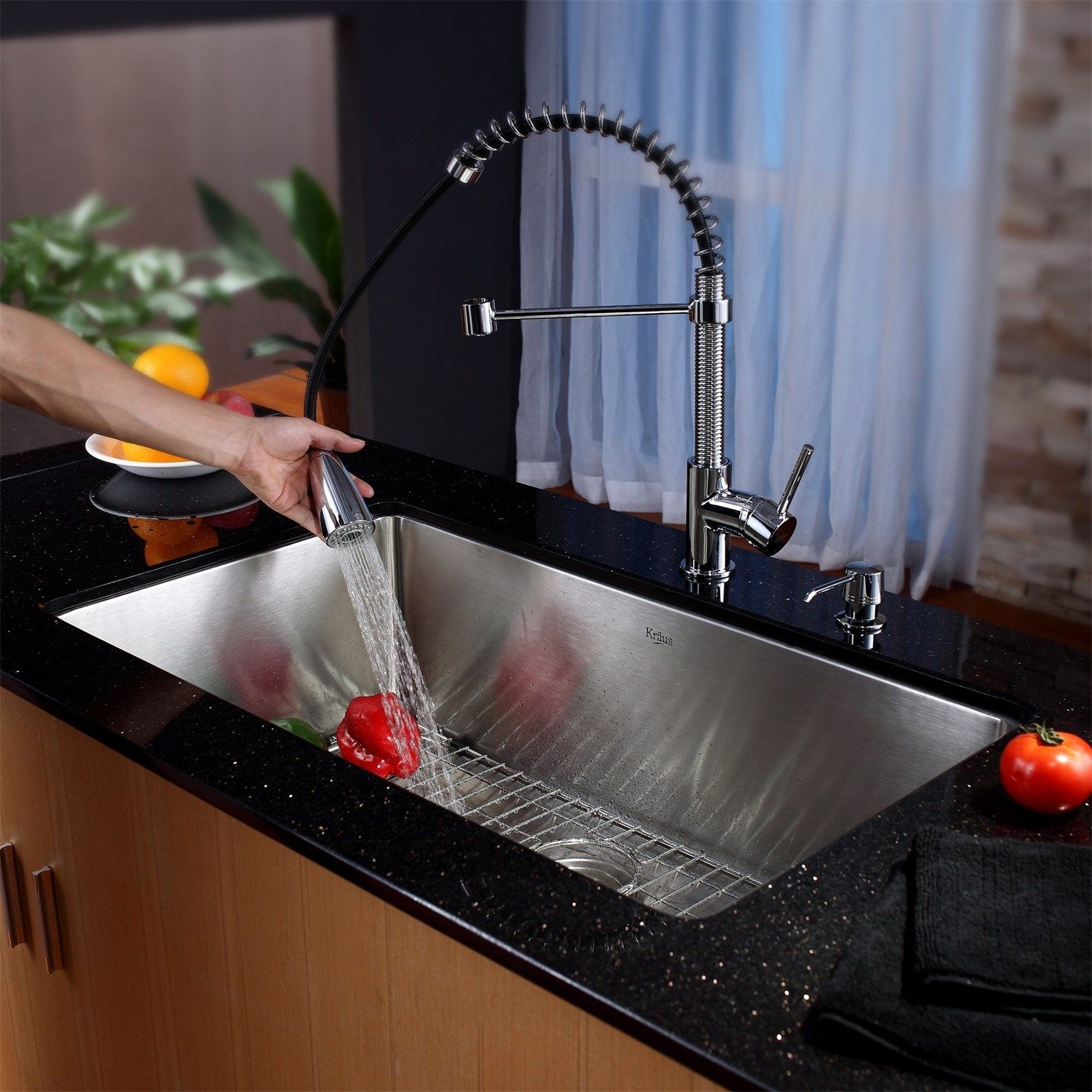 Costco - Hansgrohe Allegro™ E Gourmet Pull-Down Kitchen Faucet ...