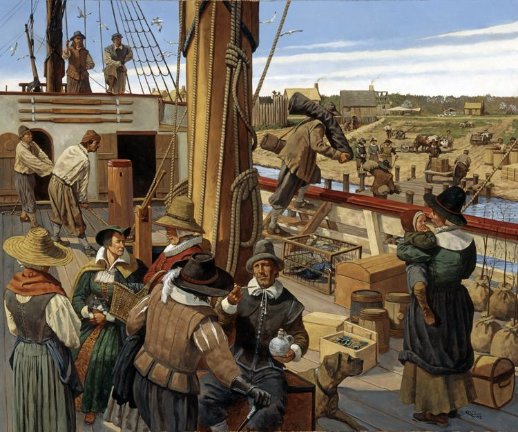 jamestown the first colony in the new world In the summer of 1609, a new group of settlers arrived, including women and children the next month, smith returned to england after having been badly.