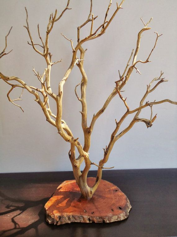 Photo of This item is not available – Manzanita Jewelry Display Tree and Center …