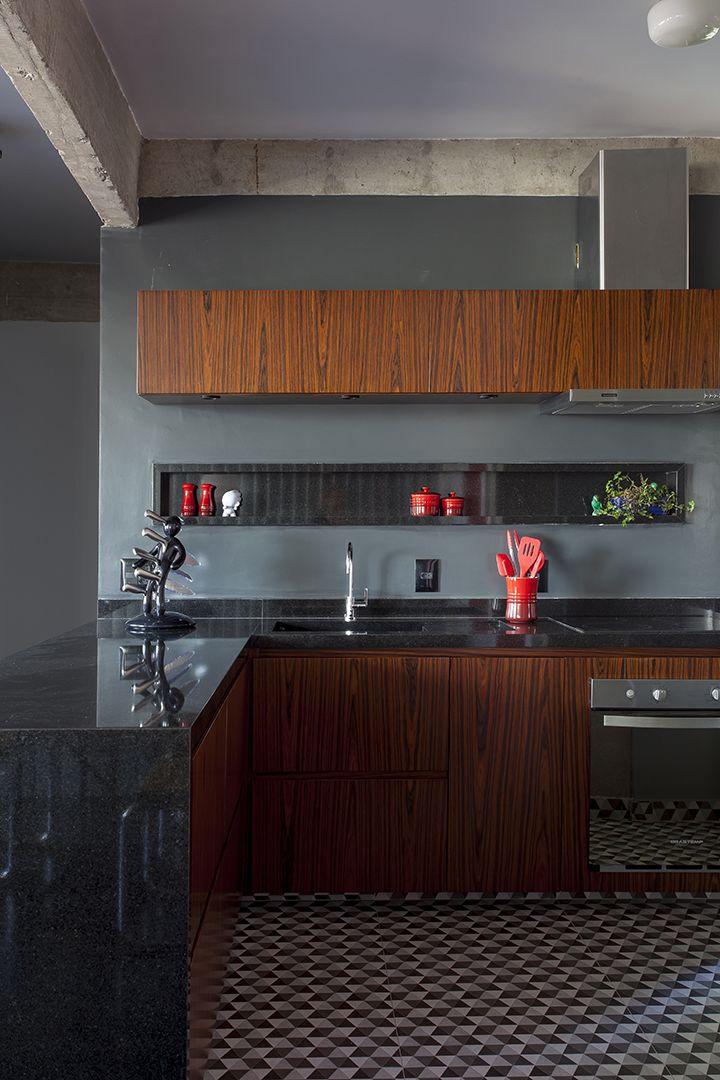 Open House Nichos Para Cozinha Cozinhas Marrons E Designs De