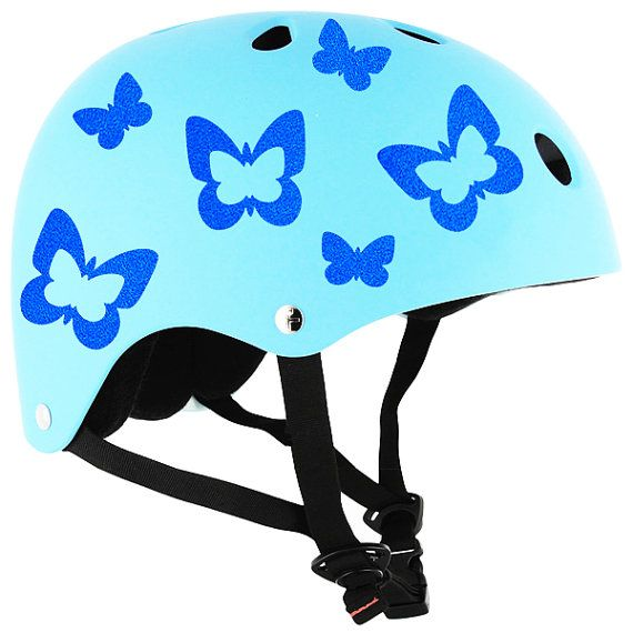 Reflective Butterflies Decal Set Butterfly Helmet Stickers - Vinyl stickers for motorcycle helmetsdragon hyper reflective decal motorcycle helmet safety sticker