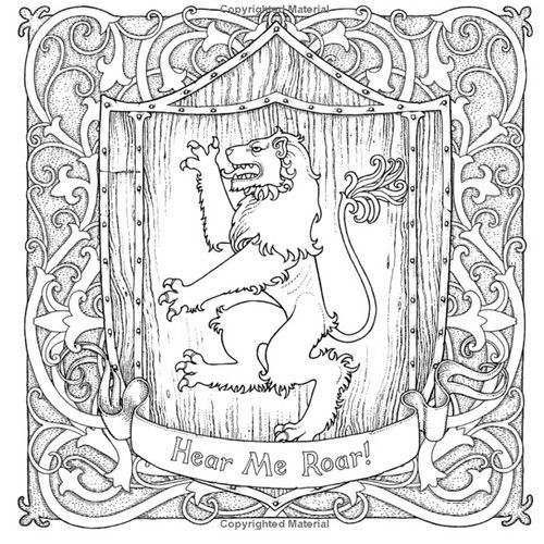 Game of Thrones Coloring Book wallpaper probably containing a