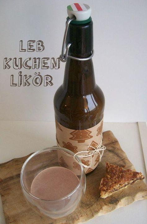 Leckerschmecker   Lebkuchenlikör Rezept   Weihnachtslikör selbermachen