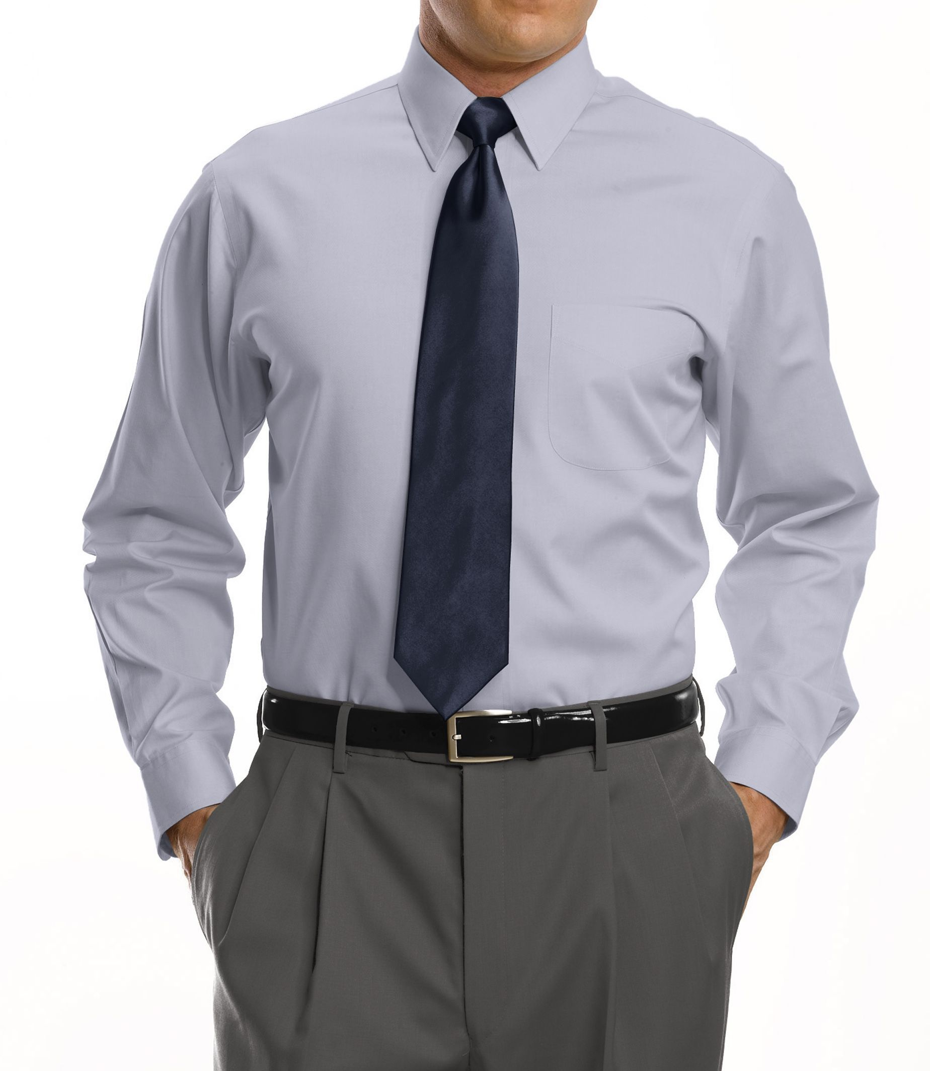 Mens Tailored Fit Dress Shirts