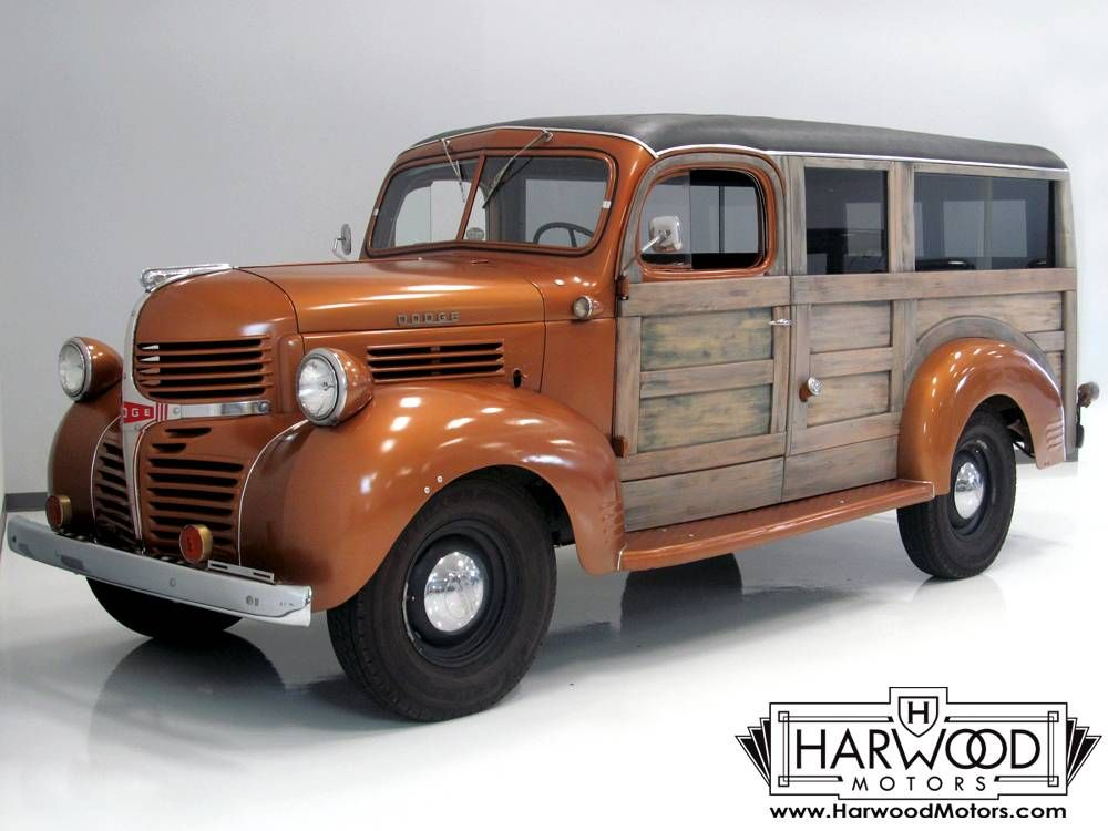 1946 Dodge WC Panel Delivery Woody & 1946 Dodge WC Panel Delivery Woody | Classic Speed u0026 Style ...