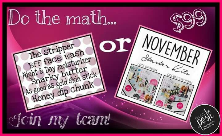 Start your own business for $99! Just in time for the holidays! Perfectlyposh.com/lakemom15