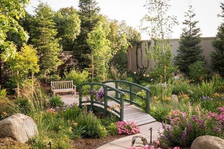 Pont de jardin: designs inspirants en 55 photos fascinantes!