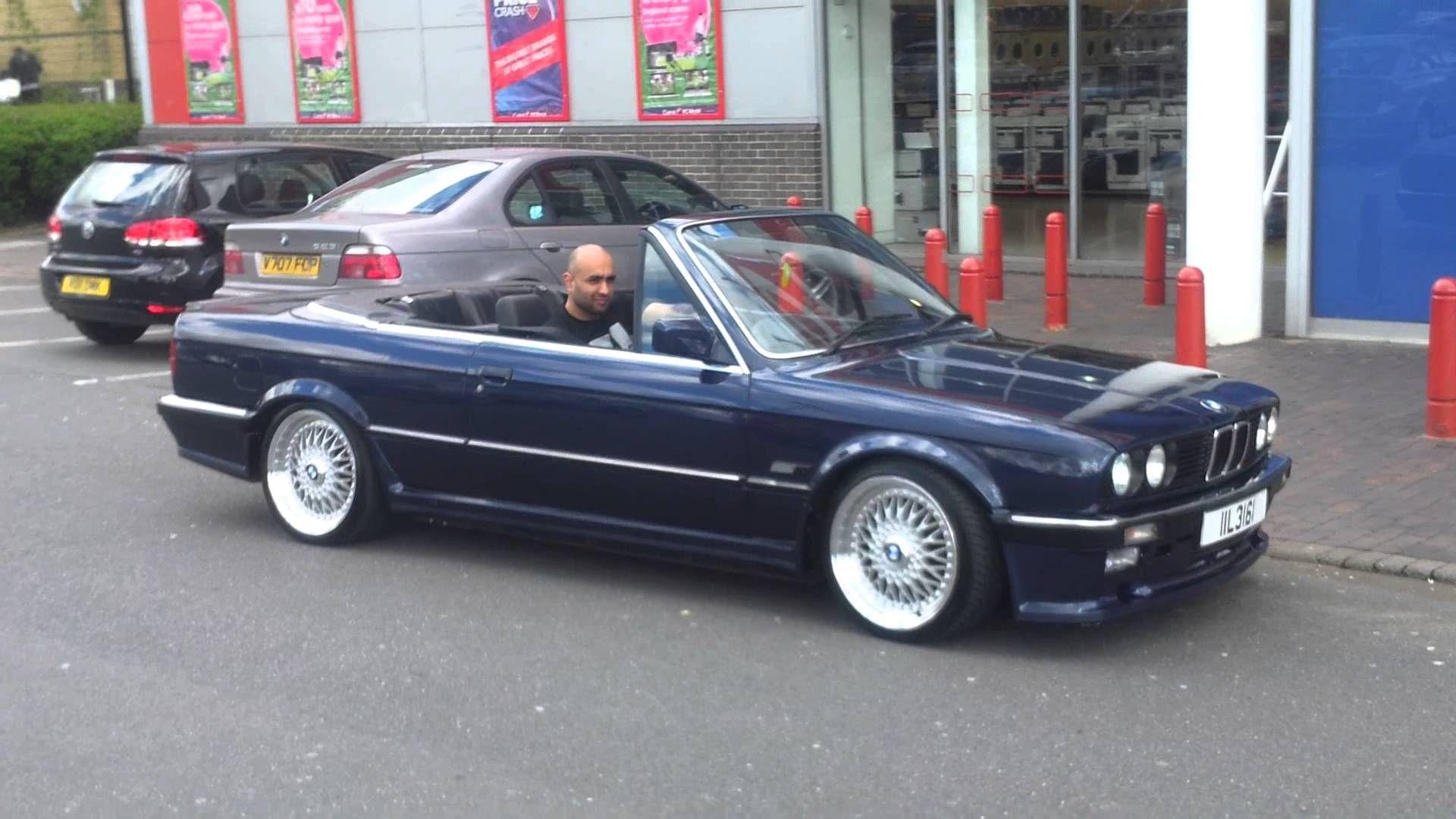 1989 Bmw E30 325i Convertible Mtec 1 Chrome Bmw E30 Bmw E30