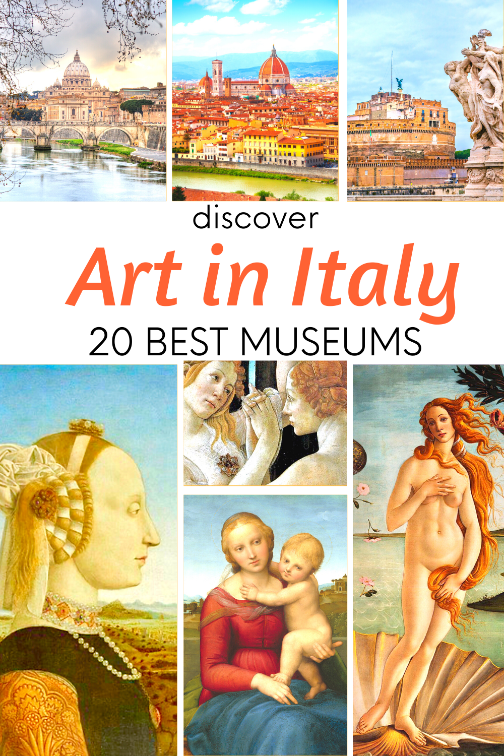 The Best Art in Italy 20 Amazing Museums in 2020