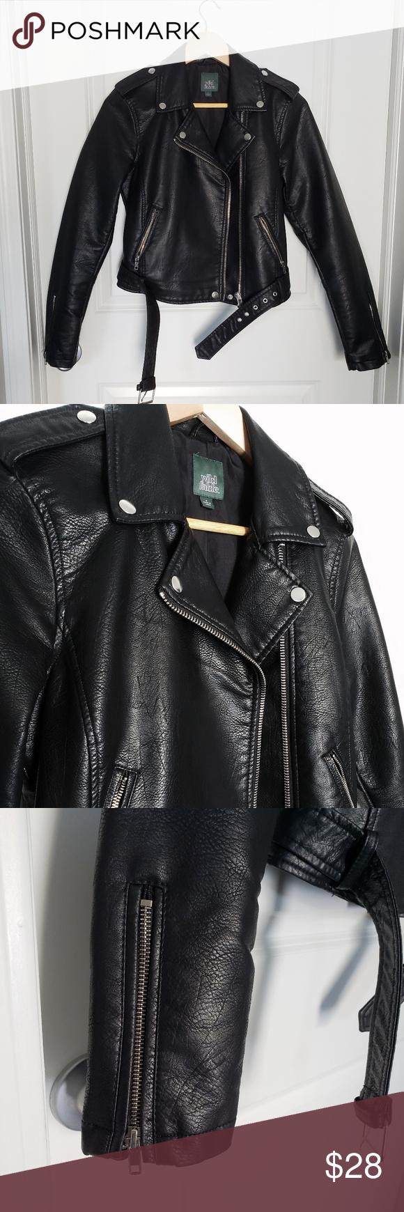 Wild Fable Faux Leather Moto Jacket Leather Moto Jacket Black Faux Leather Moto Jacket Faux Leather Moto Jacket [ 1740 x 580 Pixel ]