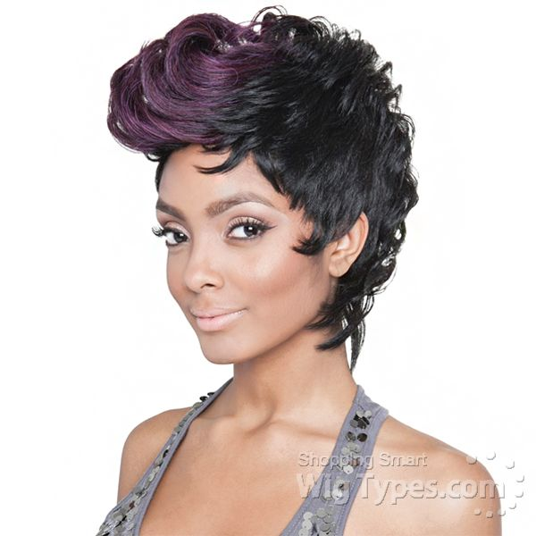 Isis Red Carpet Synthetic Hair Queen B Wig Qb02 Kim Mohawk 10699