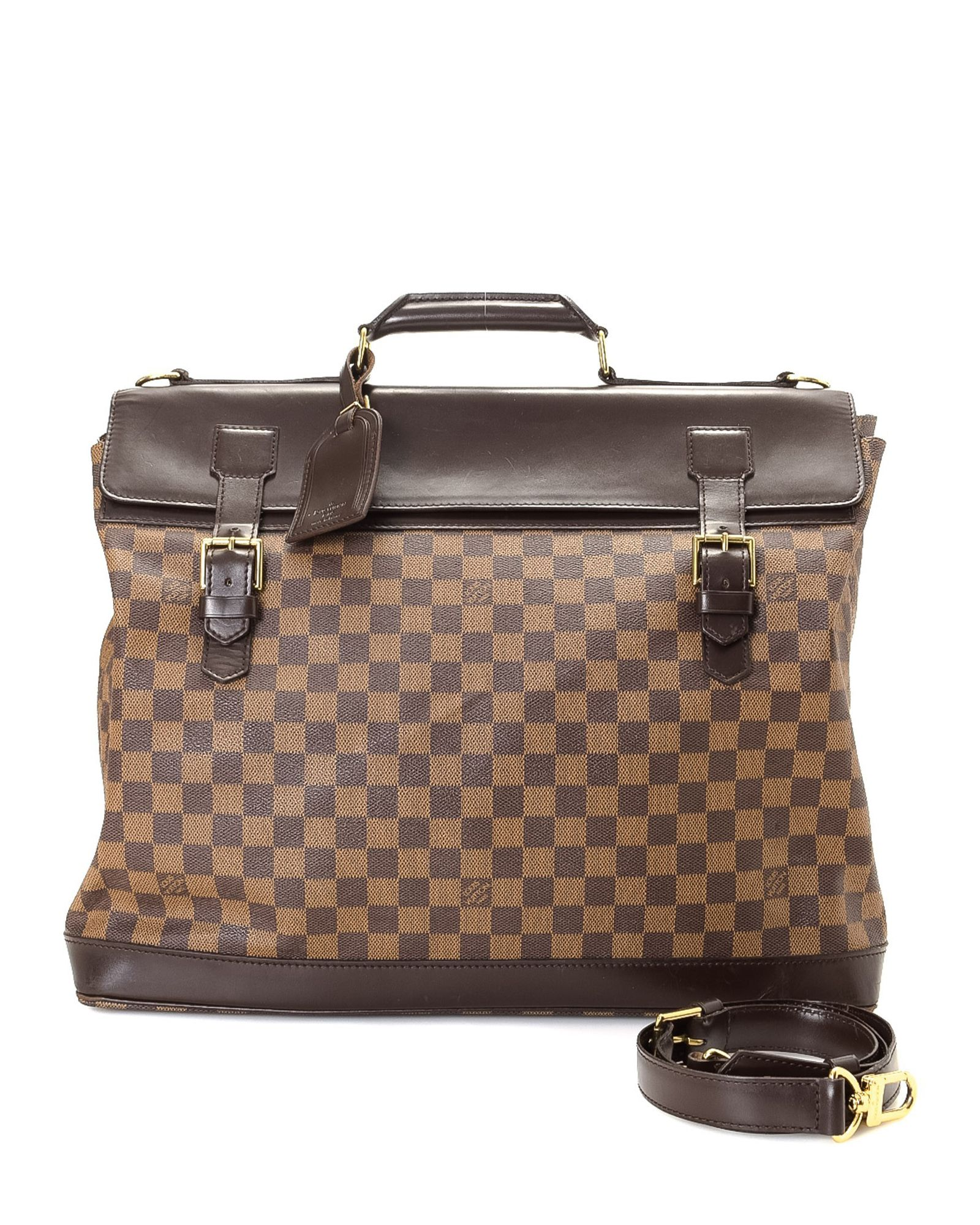 a5f604ead1c9 Louis Vuitton Damier Ebene West-End GM Travel Bag - Vintage ...