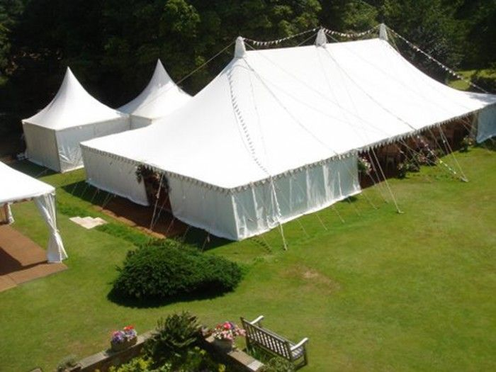 Traditional Canvas Pole tent and marquee hire for parties weddings and corporate events in UK & Traditional Canvas Pole tent and marquee hire for parties ...