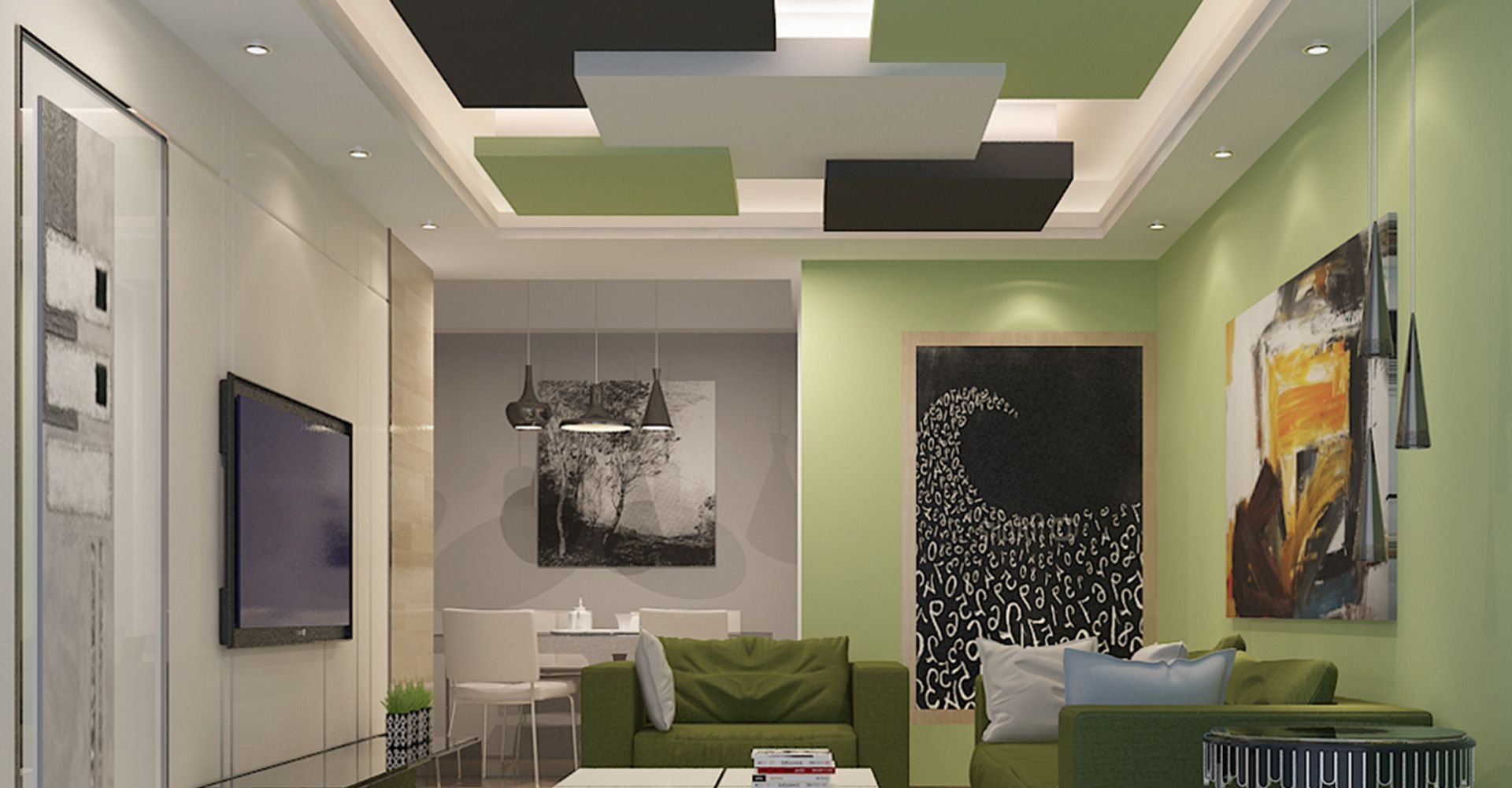 Good Living Room · False Ceiling DesignRanchCeilings Part 16