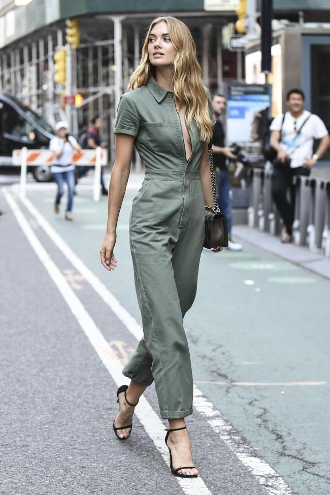 competitive price f712f 212f8 See the best model-off-duty street style looks from the 2018 Victoria s  Secret castings - Vogue Australia