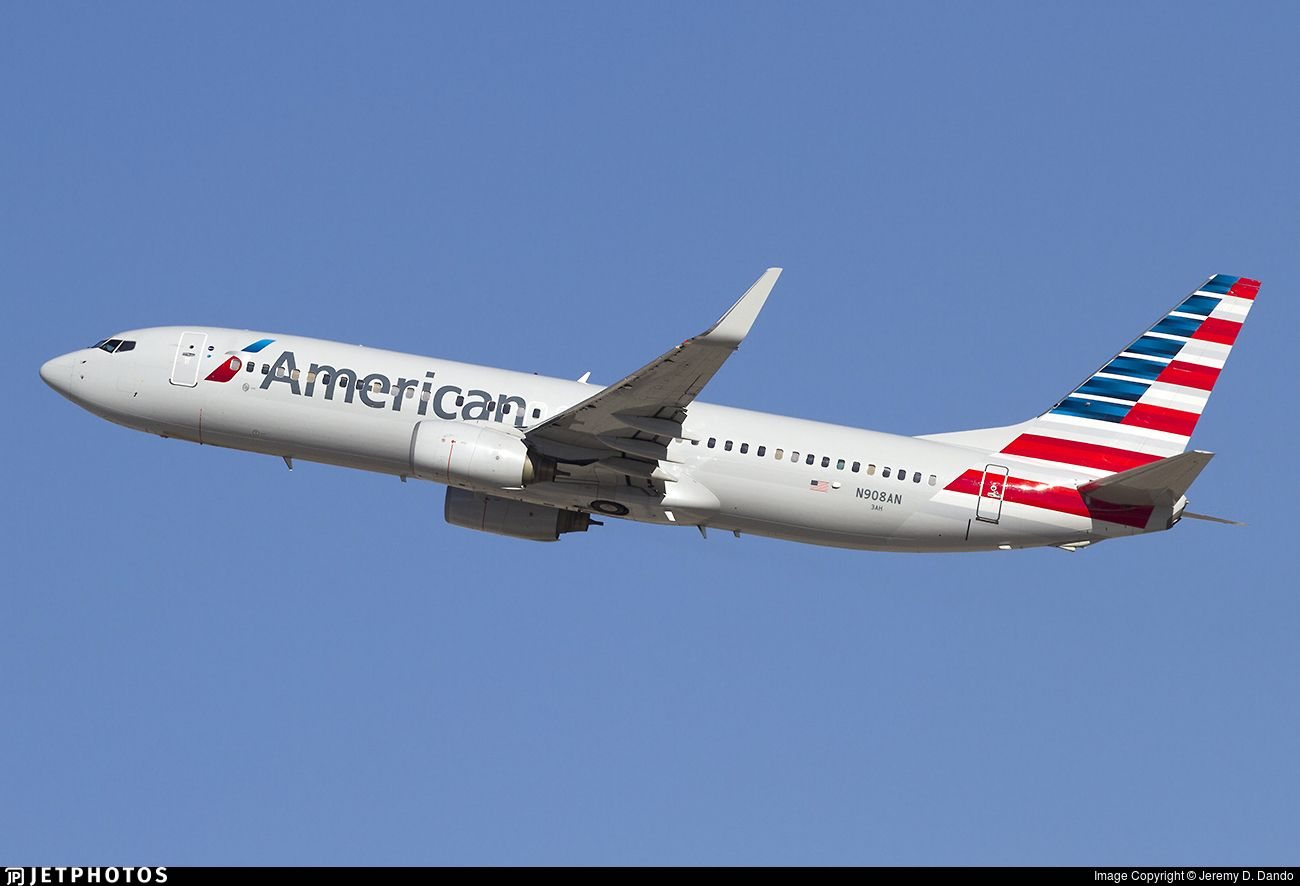 Airline American Airlines Registration N908AN Aircraft