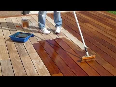 Before You Apply Wood Stain Determine The State Of Your Wood Cabot Youtube Deck Restoration Staining Deck Wood Deck