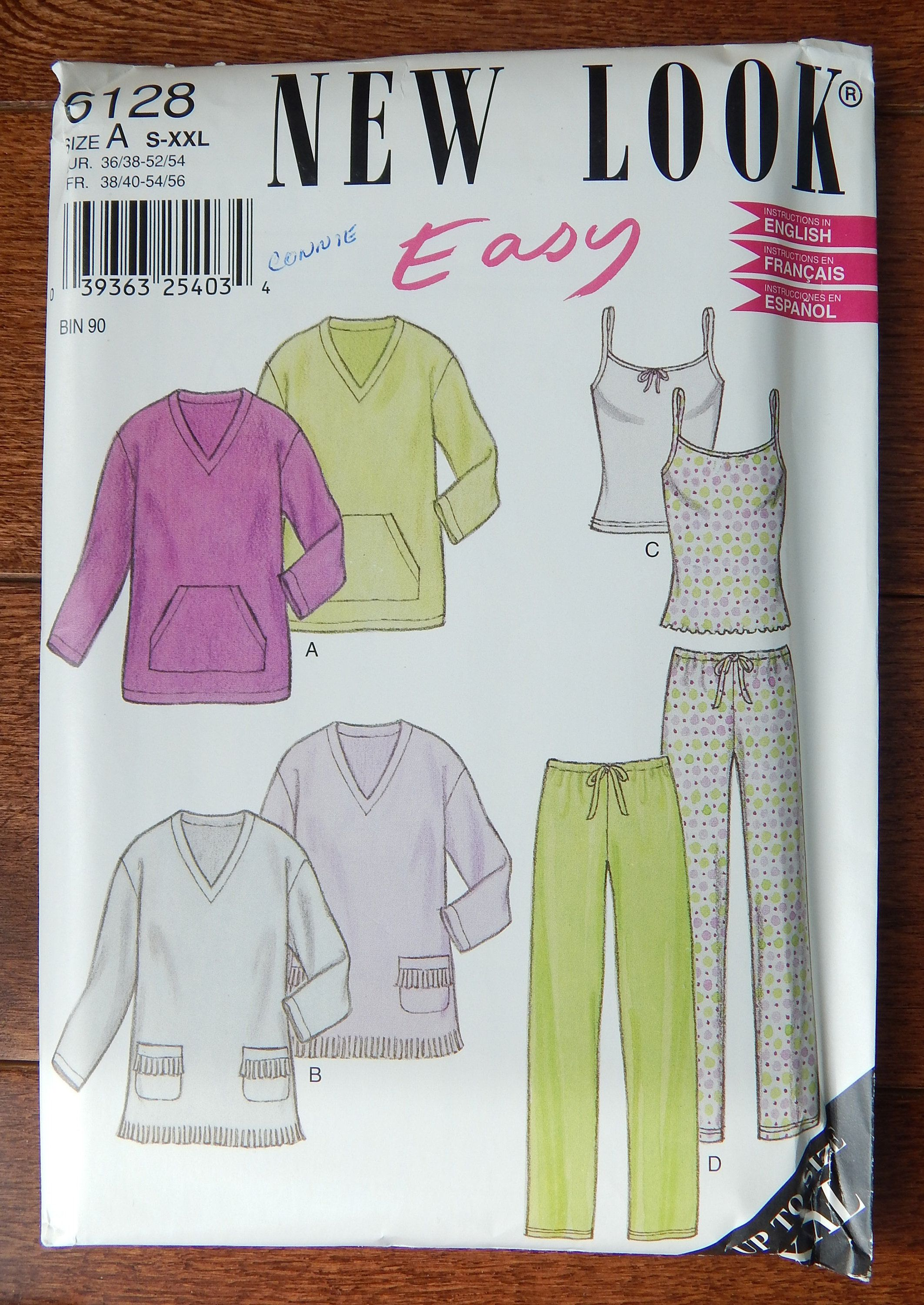 Top and Pants 6 to 22   Sewing Pattern See /& Sew 6159 Misses/' Robe