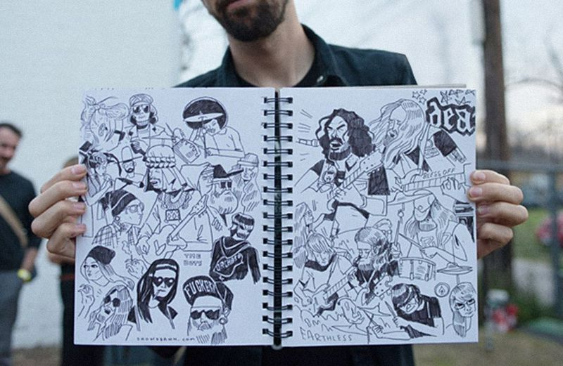 Meet the Punk Rock Illustrator Who's Worked with Jay Z, Wu Tang, Dropkick Murphys, and More | NOISEY
