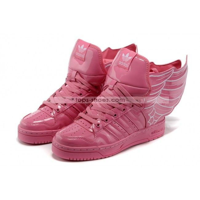 adidas high top rosa