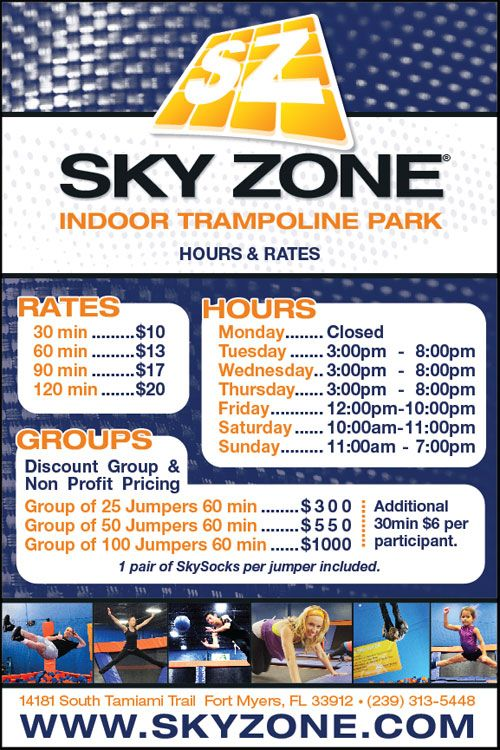 picture regarding Sky Zone Printable Coupons named Sky Zone Indoor Trampoline Park \u003e FortMyers Fort Meyers