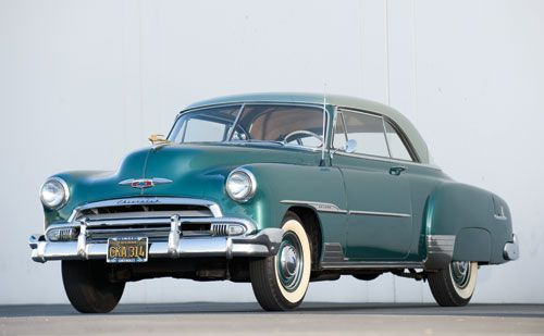 1951 Chevy  Like my parents first car