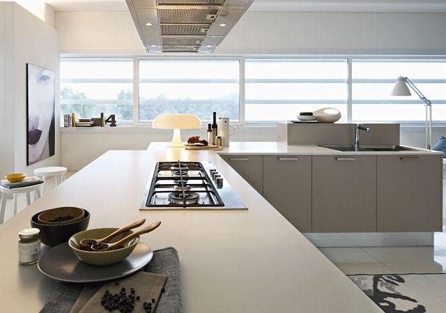 Bella cucina minimalista con design ecologico di Pedini | cucine ...