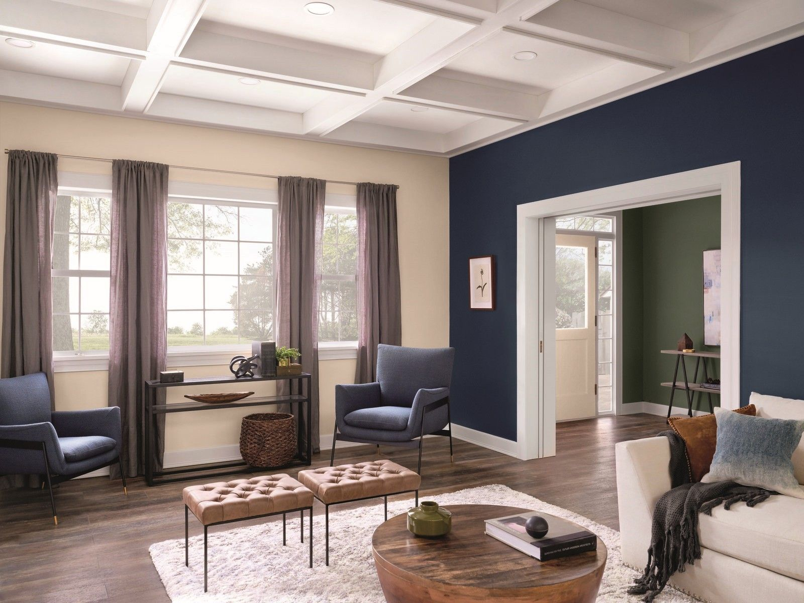 Paint Color Trends 2020 With Blue Couch 2020 Blue Color In 2020