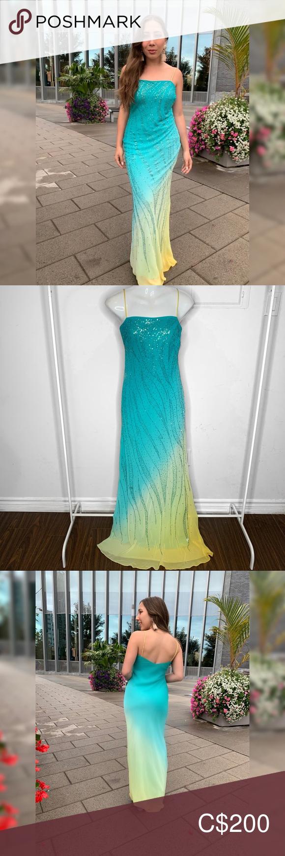 Nwt Ombre Wedding Dress Gown Dress Bridesmaid Ombre Wedding Dress Gowns Dresses Bridesmaid Outfit [ 1740 x 580 Pixel ]
