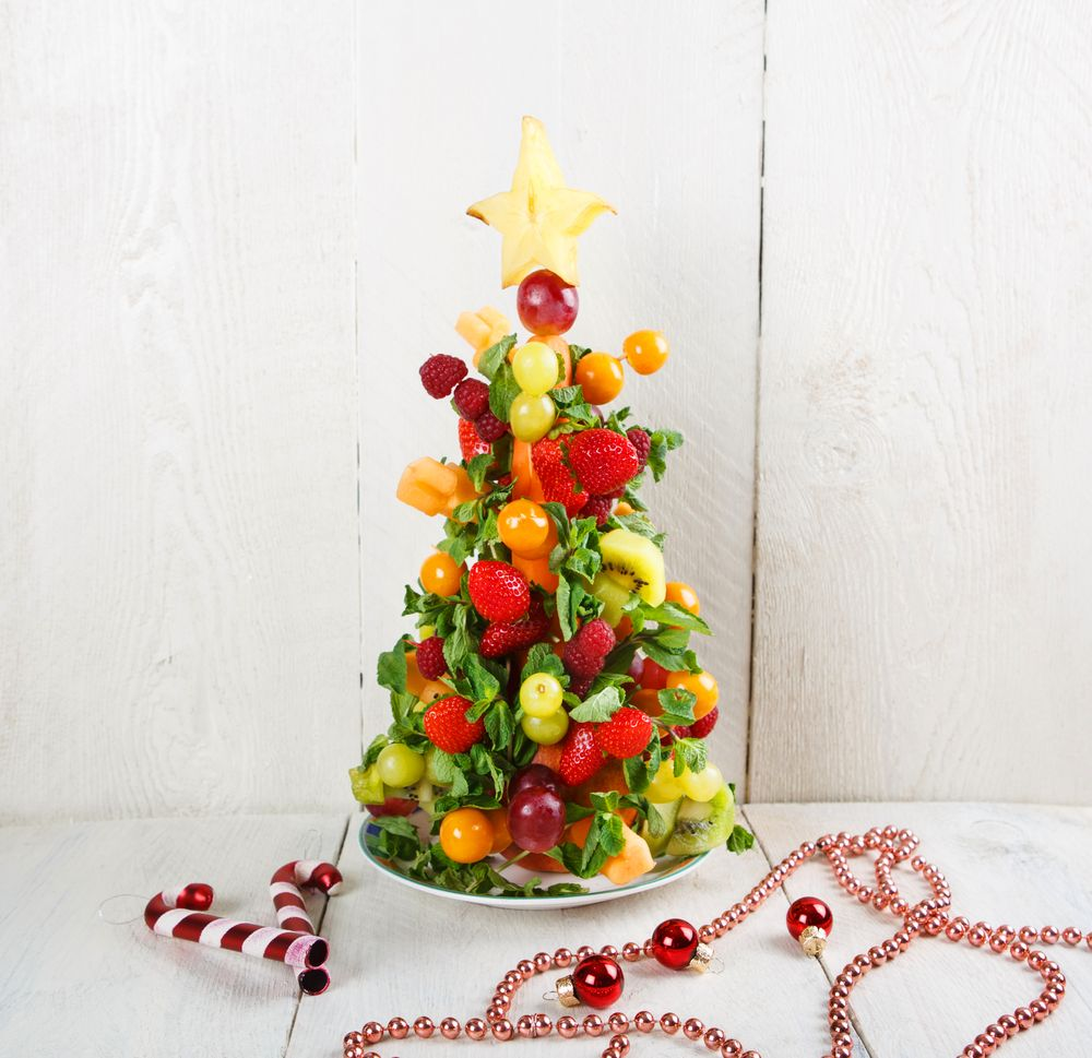 6 Rboles De Navidad Con Fruta Para Hacer Con Los Peques  ~ Crismas De Navidad Hechos Por  Ninos