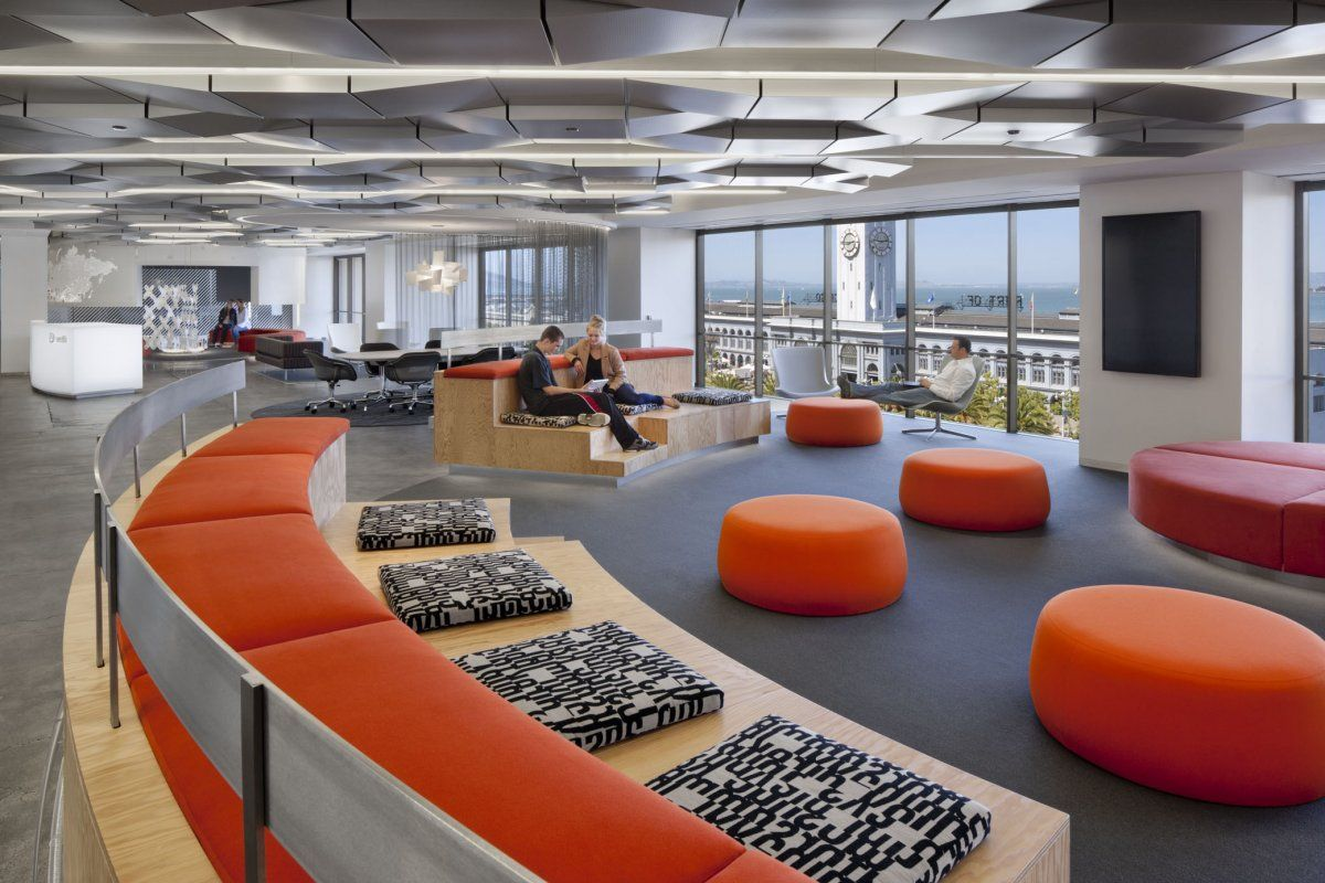 Check out this mobile ad company 39 s space age office in san for Office design san francisco